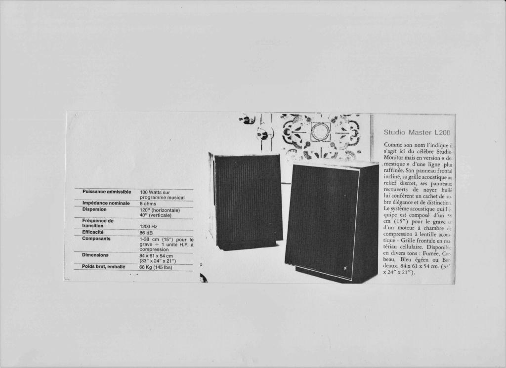 Modèle L200 Année 1973 Numzo880