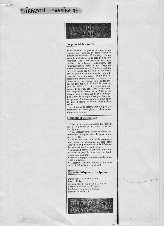 Modèle L50 début années 80 - Page 2 Numzo908