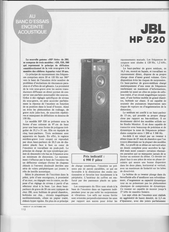 Modèle HP 520 Numzo918