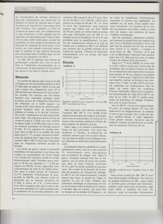 JBL 240TI (doc + BE) Numzor34