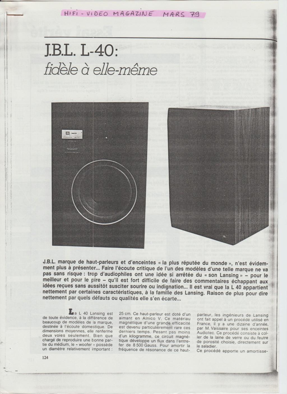 Modèle L40 début années 80 Numzor58