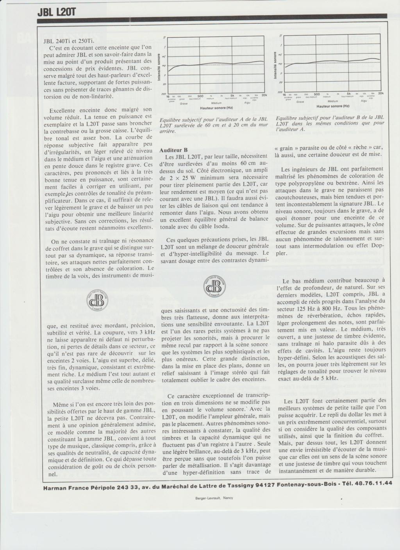 Modèle L20T noires Numzor75