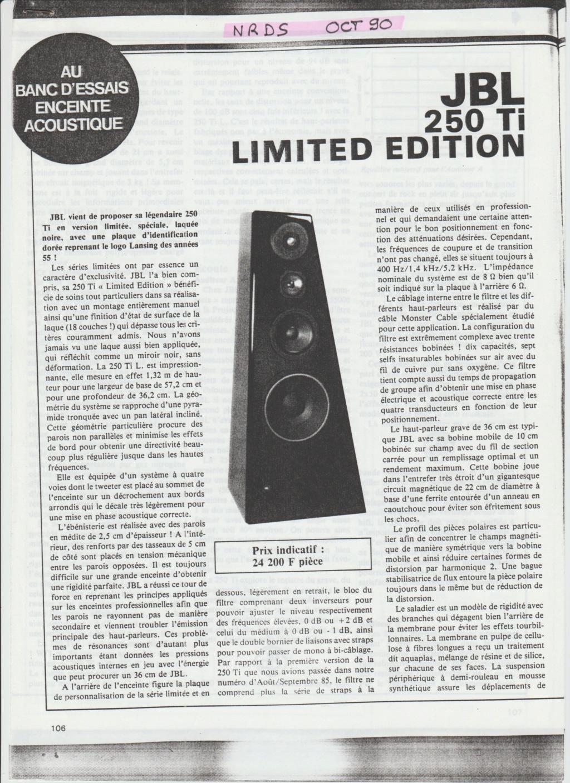 Modèle L250 Année 1982 Numzor84