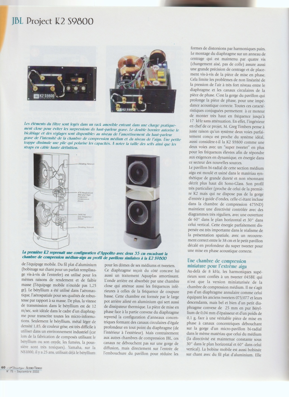 Serie K2 S9800 Numzor90