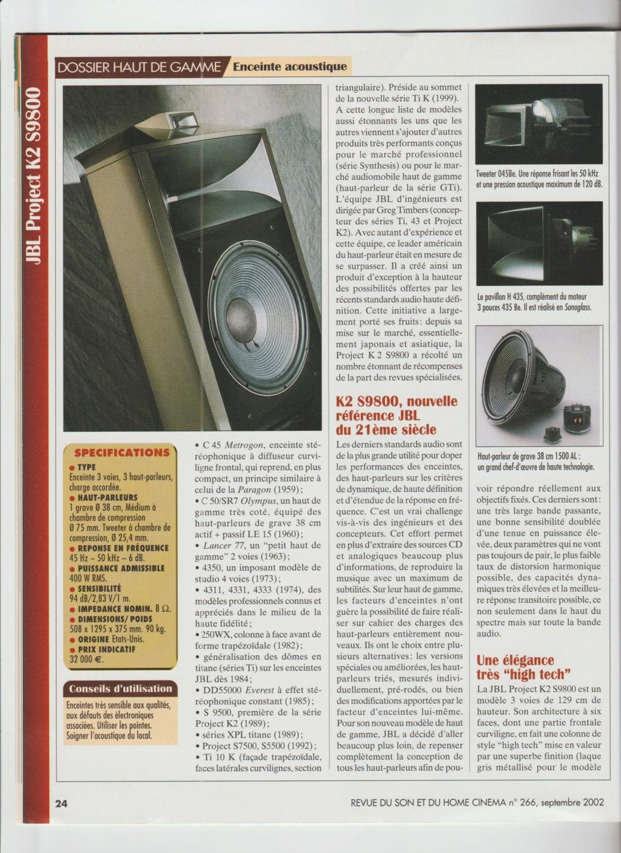 Serie K2 S9800 Numzor96