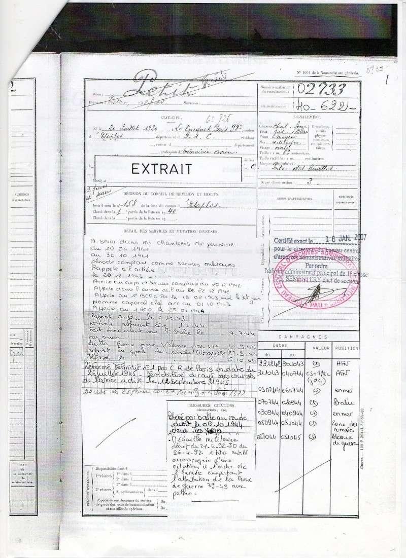 PETIT Victor - brevet n°893 à FEZ (Maroc) Représenté par son fils Denis - Page 2 Madail11