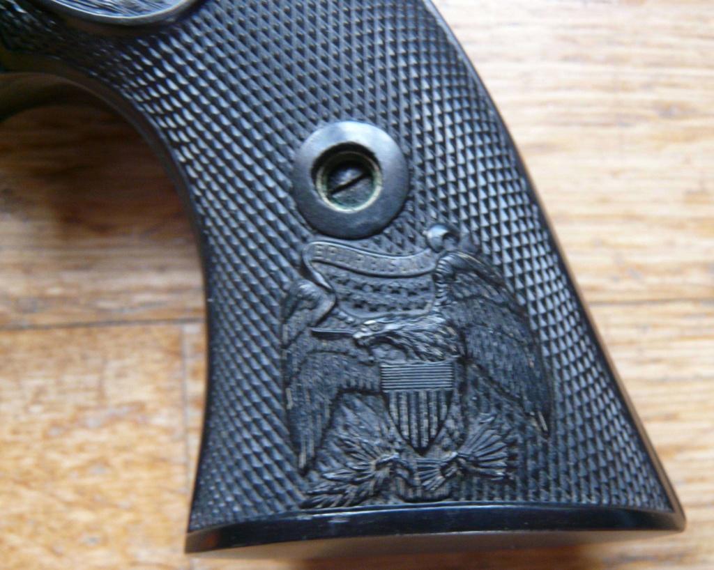 """Revolver COLT SAA 1873 5""""1/4 3ème gén. cal. 38/357 [Réservé] P1060822"""
