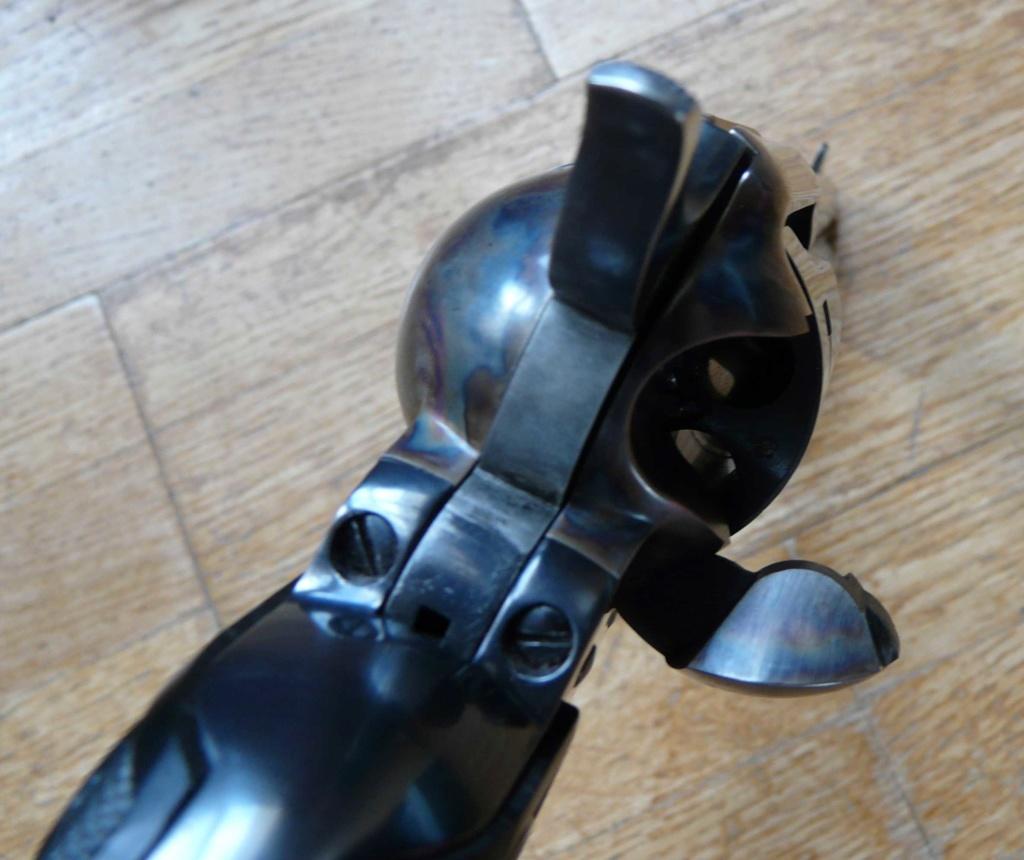 """Revolver COLT SAA 1873 5""""1/4 3ème gén. cal. 38/357 [Réservé] P1060823"""