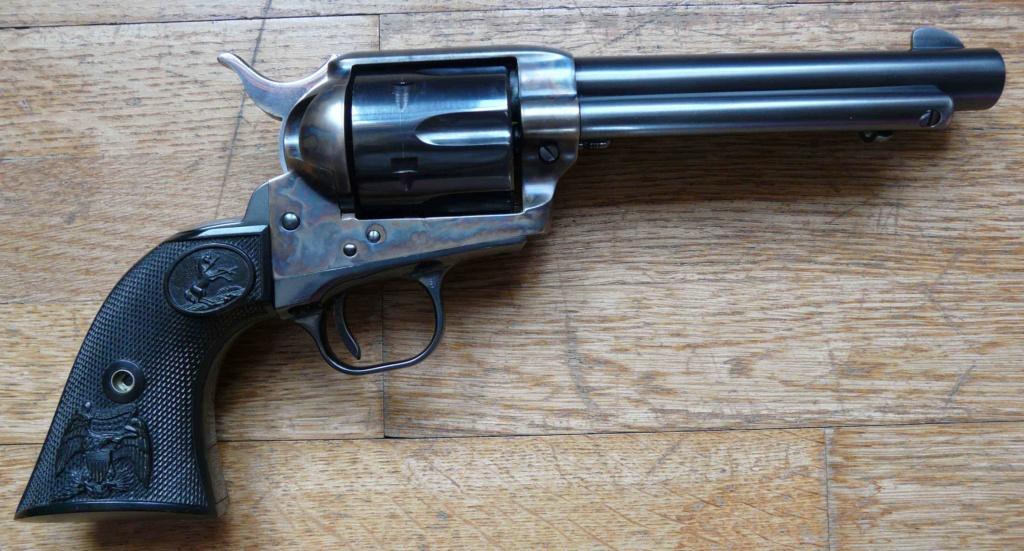 """Revolver COLT SAA 1873 5""""1/4 3ème gén. cal. 38/357 [Réservé] P1060824"""