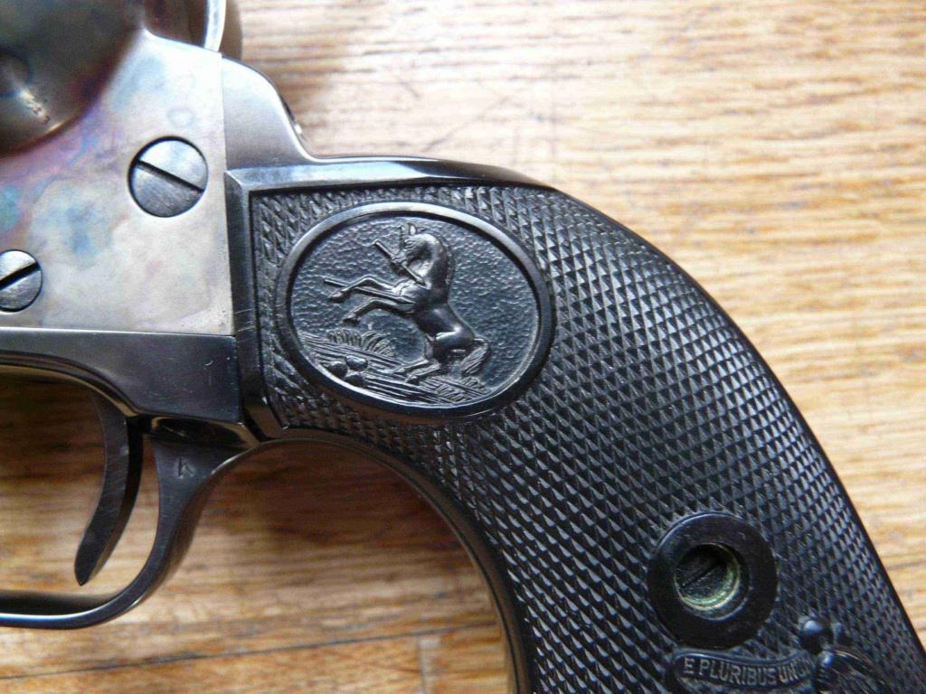 """Revolver COLT SAA 1873 5""""1/4 3ème gén. cal. 38/357 [Réservé] P1060825"""