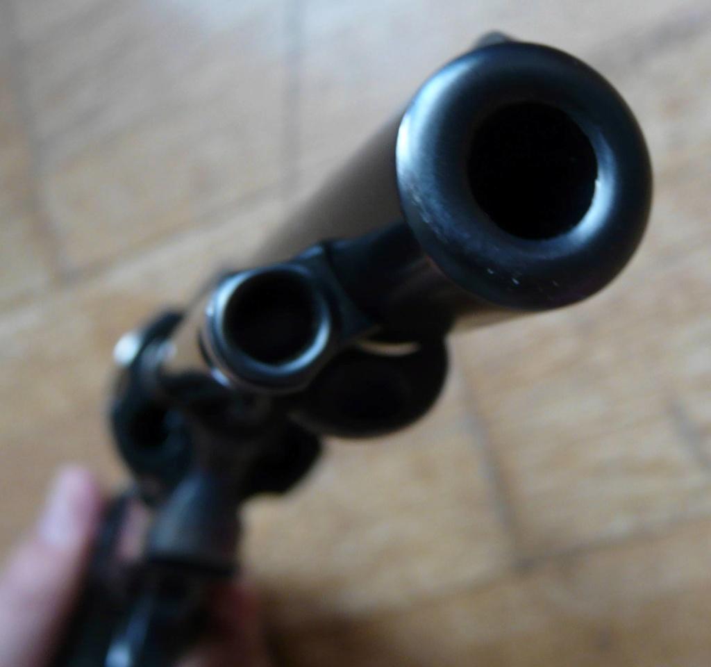 """Revolver COLT SAA 1873 5""""1/4 3ème gén. cal. 38/357 [Réservé] P1060828"""