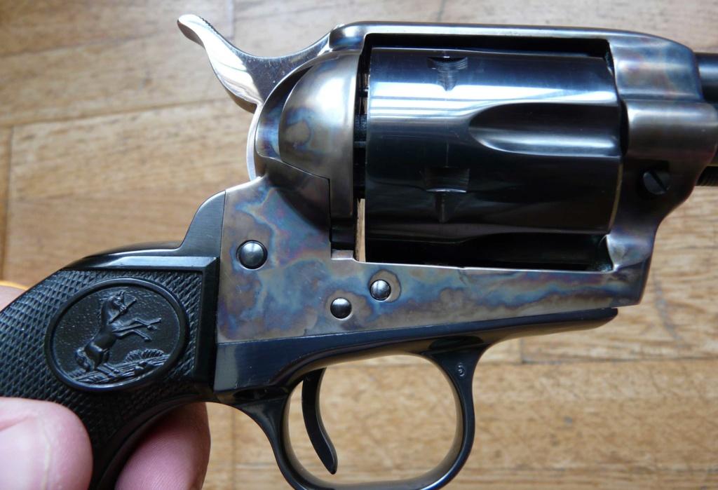 """Revolver COLT SAA 1873 5""""1/4 3ème gén. cal. 38/357 [Réservé] P1060829"""