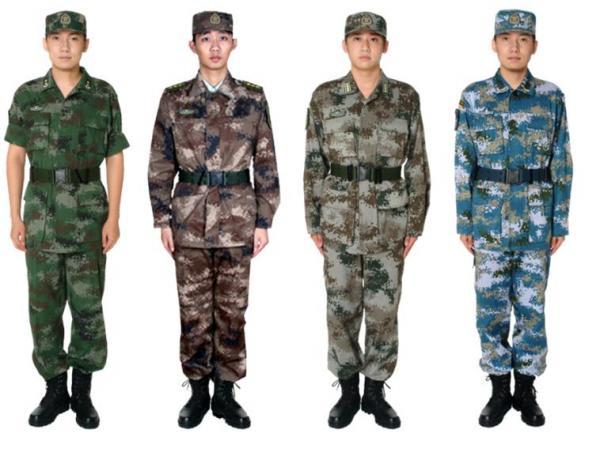 Camouflages du monde entier Chines10