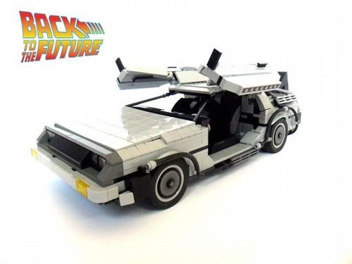 [LEGO] La DeLorean de Retour vers le futur en LEGO! 0delor10