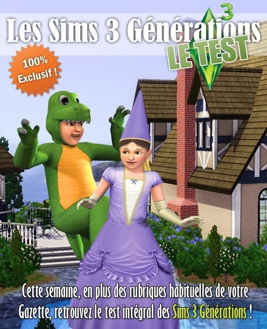 Gazette numéro 89 + Test Sims 3 Générations Couv-t11