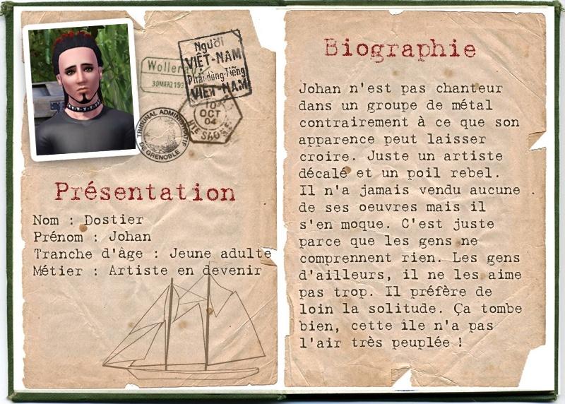 [Challenge] L'île Perdue - Page 17 Dostie10
