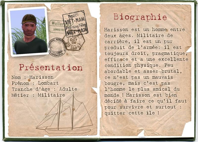 [Challenge] L'île Perdue - Page 2 Hariss10