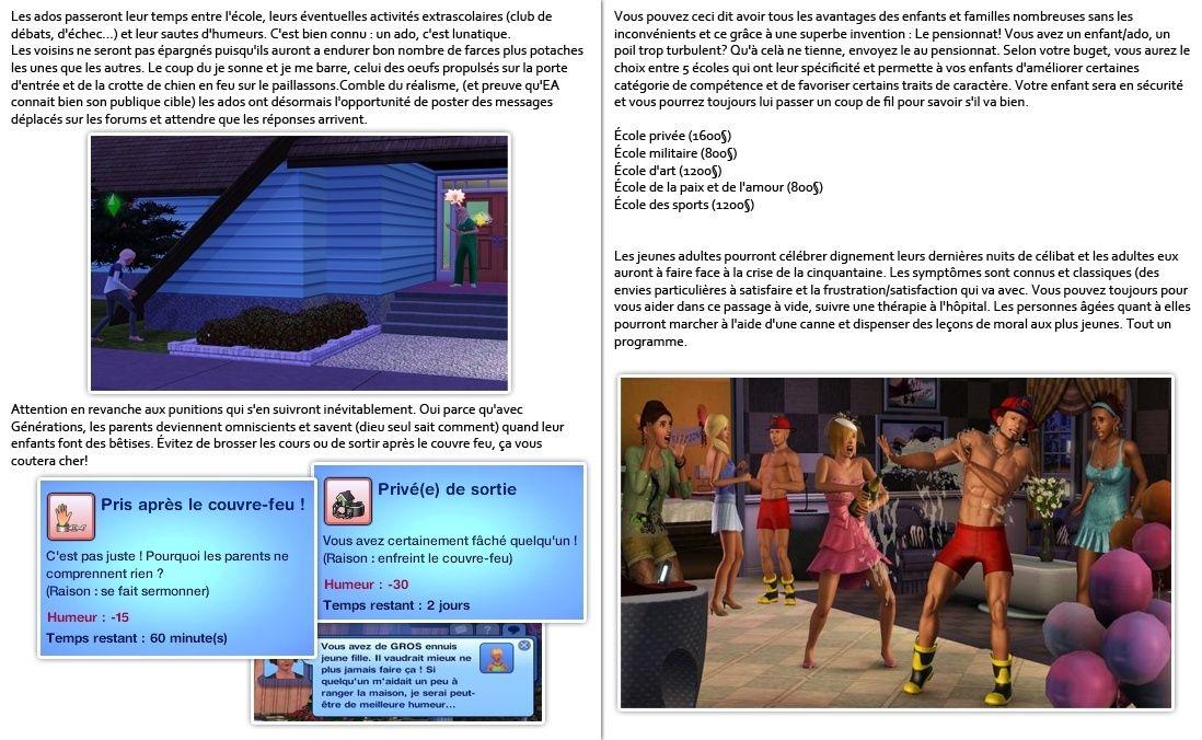Gazette numéro 89 + Test Sims 3 Générations P23-2410