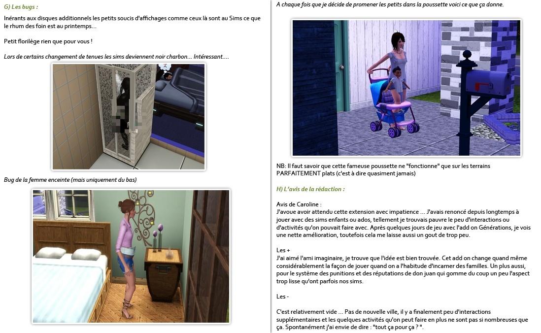 Gazette numéro 89 + Test Sims 3 Générations P37-3810