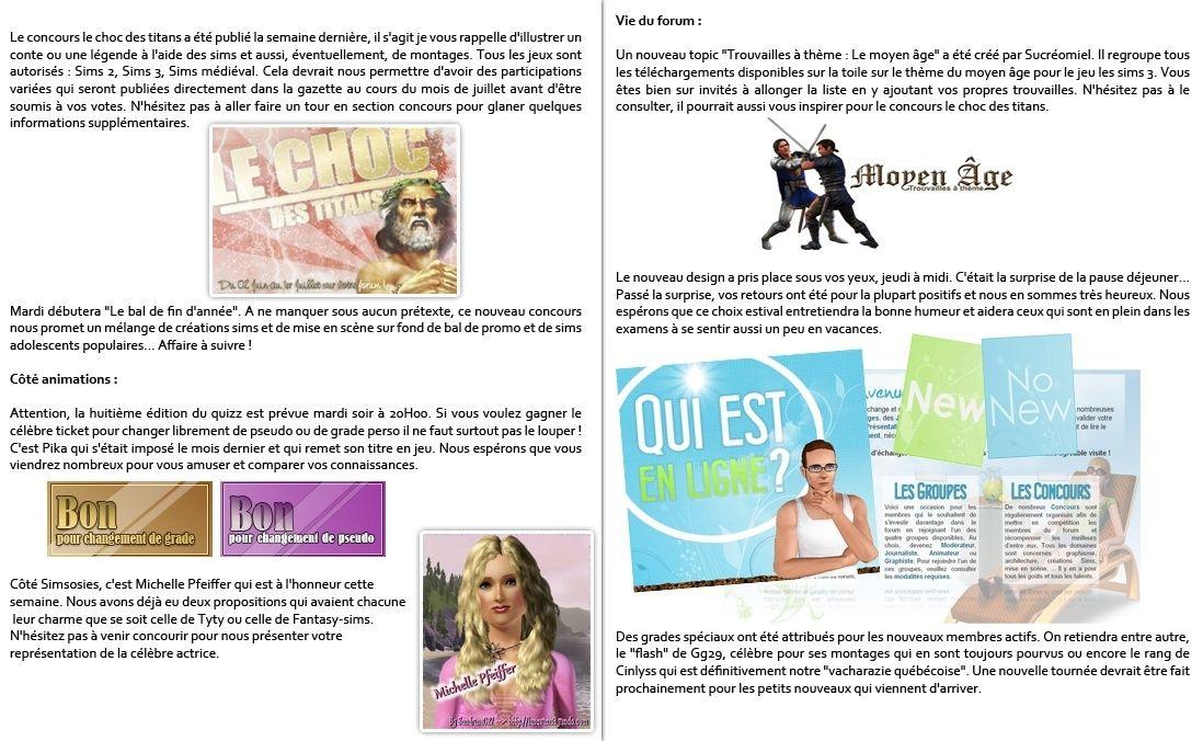Gazette numéro 89 + Test Sims 3 Générations P5-610