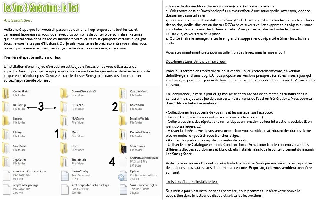 Gazette numéro 89 + Test Sims 3 Générations P7-810