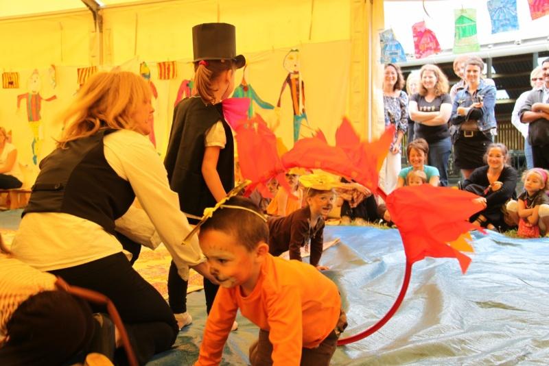 cirque - Le Cirque Du Vignoble à Wangen le samedi 25 juin 2011 à 10h30 33110