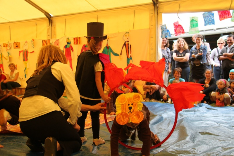 cirque - Le Cirque Du Vignoble à Wangen le samedi 25 juin 2011 à 10h30 33210