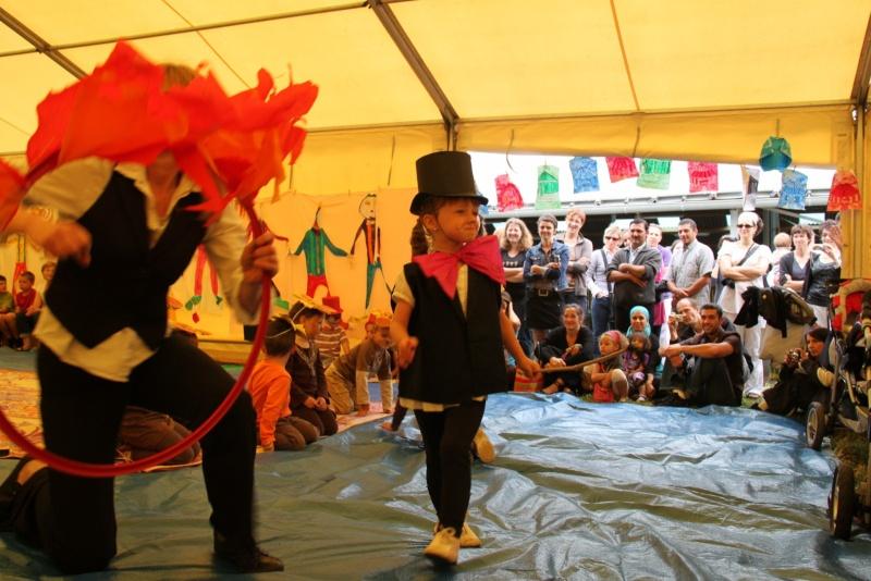 cirque - Le Cirque Du Vignoble à Wangen le samedi 25 juin 2011 à 10h30 34210