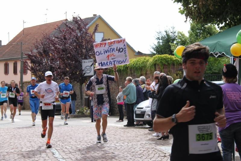 Le Marathon du Vignoble d'Alsace du 18 et 19 juin 2011:et c'est parti pour la 7ème édition qui passera bien entendu par Wangen! 36210