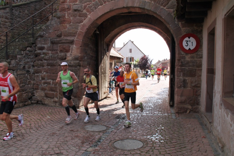 Le Marathon du Vignoble d'Alsace du 18 et 19 juin 2011:et c'est parti pour la 7ème édition qui passera bien entendu par Wangen! 37110