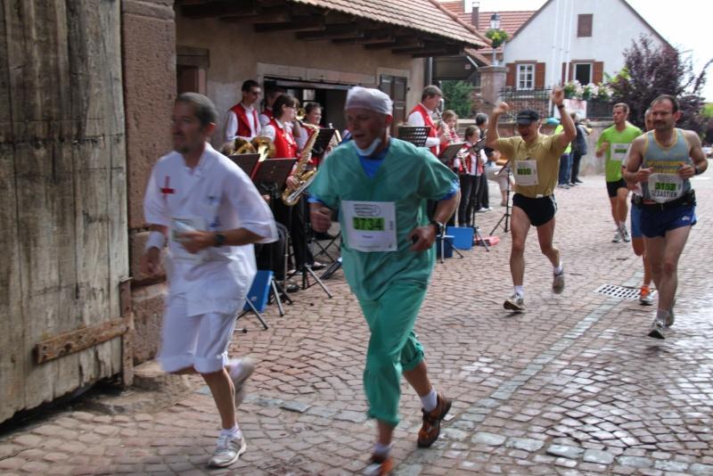 Le Marathon du Vignoble d'Alsace du 18 et 19 juin 2011:et c'est parti pour la 7ème édition qui passera bien entendu par Wangen! 38310