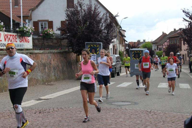 Le Marathon du Vignoble d'Alsace du 18 et 19 juin 2011:et c'est parti pour la 7ème édition qui passera bien entendu par Wangen! 41710