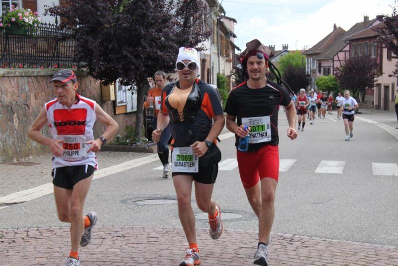 Le Marathon du Vignoble d'Alsace du 18 et 19 juin 2011:et c'est parti pour la 7ème édition qui passera bien entendu par Wangen! 42210