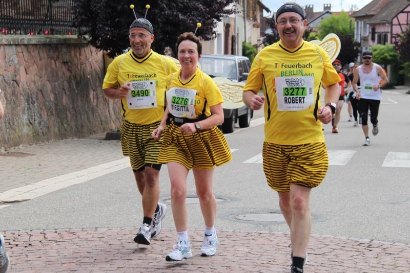 Le Marathon du Vignoble d'Alsace du 18 et 19 juin 2011:et c'est parti pour la 7ème édition qui passera bien entendu par Wangen! 42811