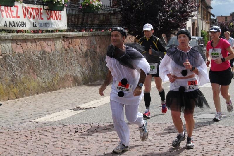 Le Marathon du Vignoble d'Alsace du 18 et 19 juin 2011:et c'est parti pour la 7ème édition qui passera bien entendu par Wangen! 43010