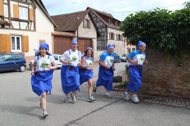 Le Marathon du Vignoble d'Alsace du 18 et 19 juin 2011:et c'est parti pour la 7ème édition qui passera bien entendu par Wangen! 48710