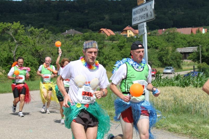 Le Marathon du Vignoble d'Alsace du 18 et 19 juin 2011:et c'est parti pour la 7ème édition qui passera bien entendu par Wangen! 58110
