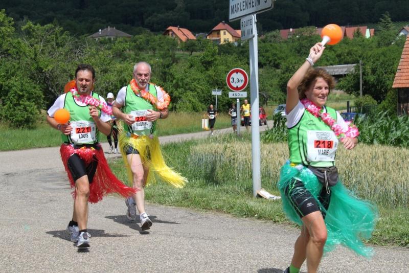Le Marathon du Vignoble d'Alsace du 18 et 19 juin 2011:et c'est parti pour la 7ème édition qui passera bien entendu par Wangen! 58210