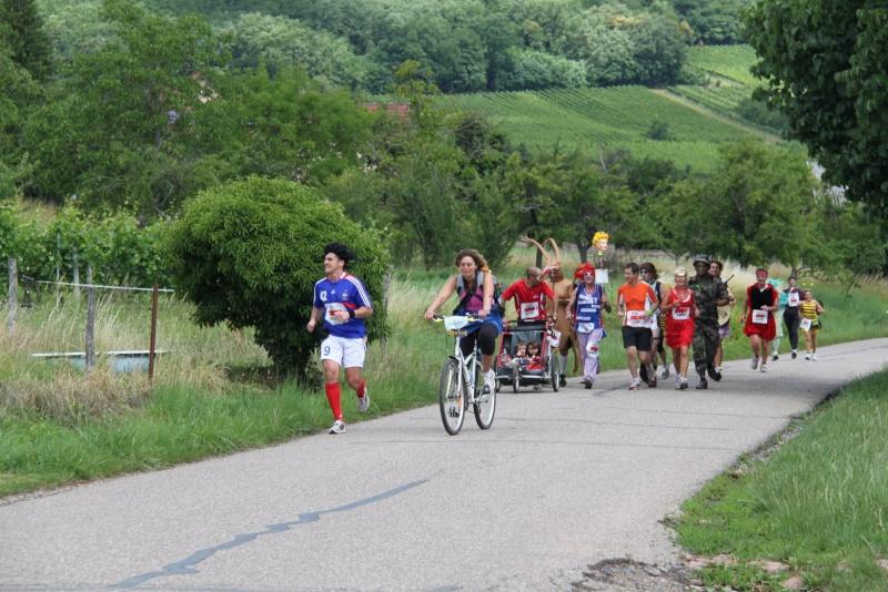 Le Marathon du Vignoble d'Alsace du 18 et 19 juin 2011:et c'est parti pour la 7ème édition qui passera bien entendu par Wangen! 58910