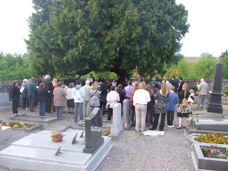 Fêtons Pâques Ensemble,Paroisses catholique et protestante de Wangen,dimanche 24 avril 2011 à 7h. Dscf5810