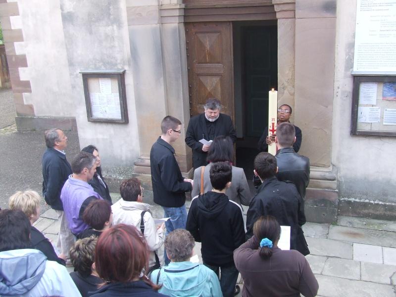 Fêtons Pâques Ensemble,Paroisses catholique et protestante de Wangen,dimanche 24 avril 2011 à 7h. Dscf5811