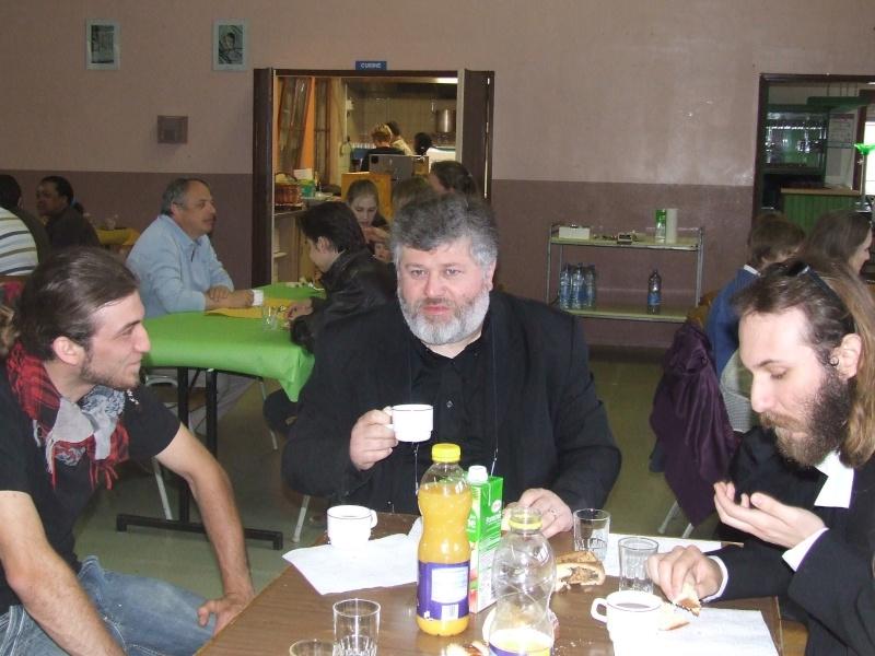 Fêtons Pâques Ensemble,Paroisses catholique et protestante de Wangen,dimanche 24 avril 2011 à 7h. Dscf5814