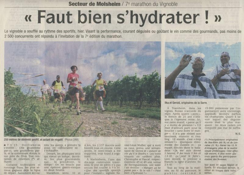 Le Marathon du Vignoble d'Alsace du 18 et 19 juin 2011:et c'est parti pour la 7ème édition qui passera bien entendu par Wangen! Image144