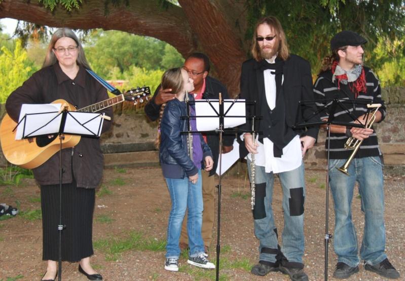 Fêtons Pâques Ensemble,Paroisses catholique et protestante de Wangen,dimanche 24 avril 2011 à 7h. Img_3129