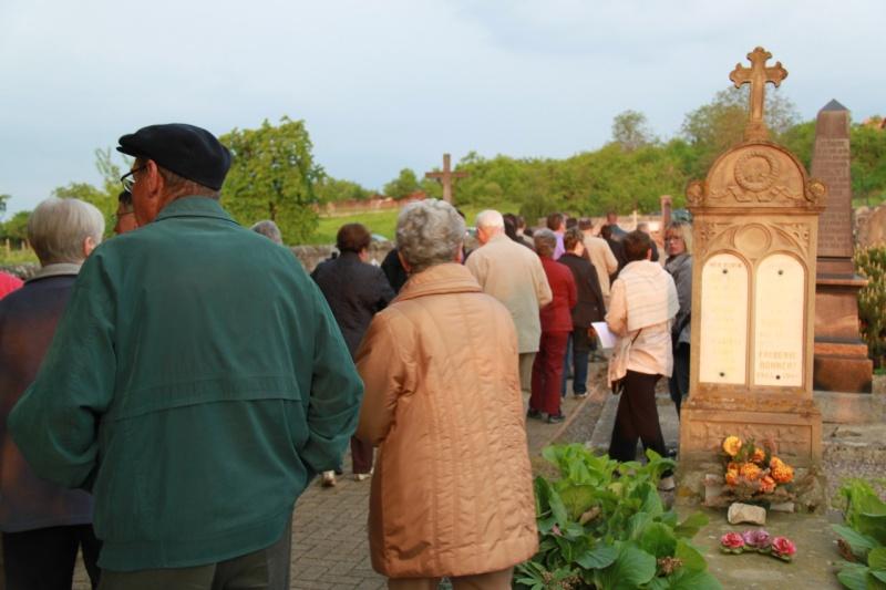 Fêtons Pâques Ensemble,Paroisses catholique et protestante de Wangen,dimanche 24 avril 2011 à 7h. Img_3133