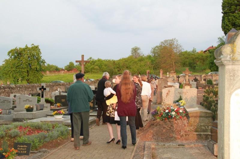 Fêtons Pâques Ensemble,Paroisses catholique et protestante de Wangen,dimanche 24 avril 2011 à 7h. Img_3135