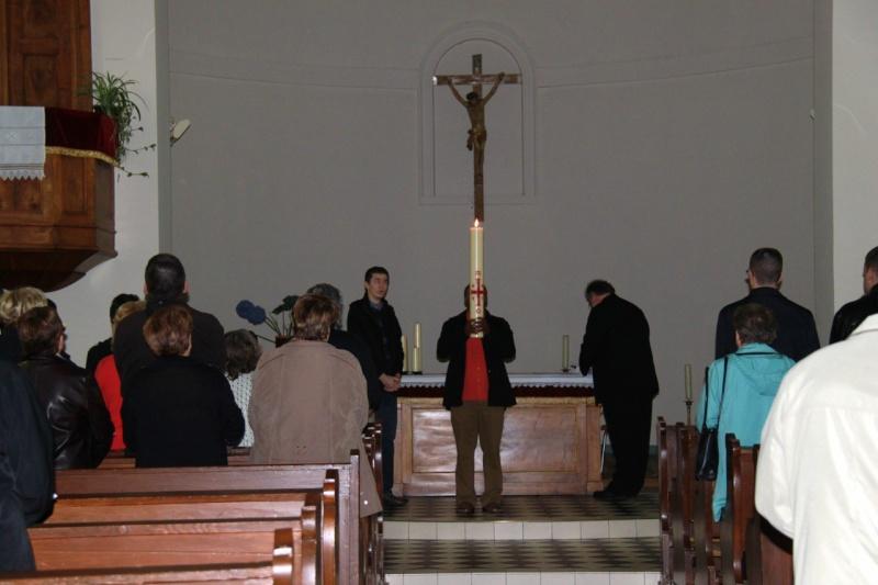 Fêtons Pâques Ensemble,Paroisses catholique et protestante de Wangen,dimanche 24 avril 2011 à 7h. Img_3143
