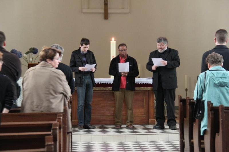 Fêtons Pâques Ensemble,Paroisses catholique et protestante de Wangen,dimanche 24 avril 2011 à 7h. Img_3144