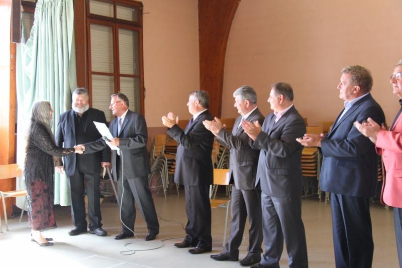 Culte de départ du Pasteur Claude Mourlam le 19 juin 2011 à 14h30 à l'église de Wangen Img_4818