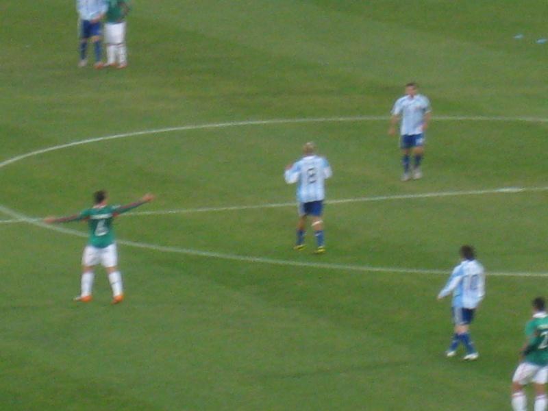 [WC2010] 1/8eme de Finale Argentina-Mexico Img_3524